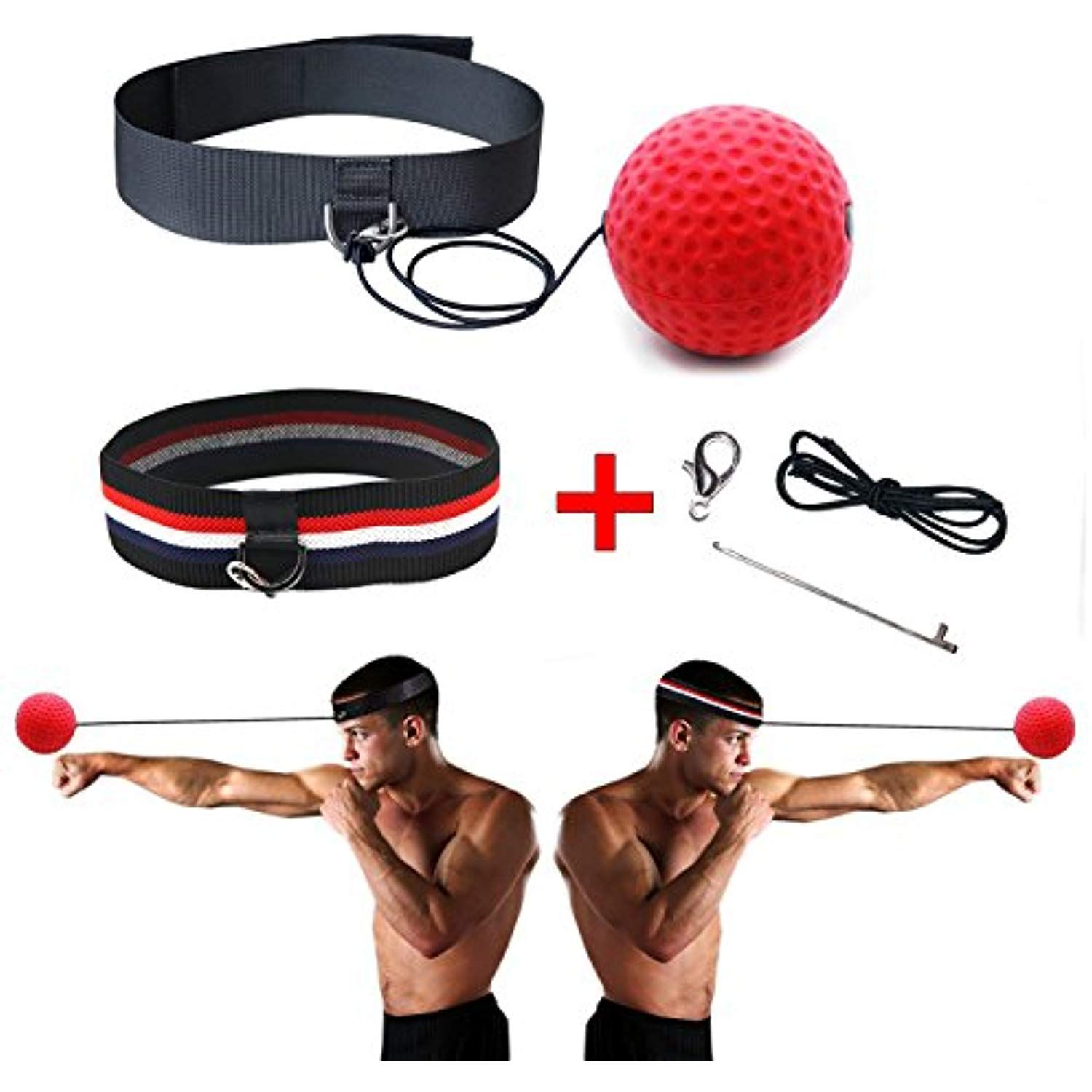 Eye Hand Kakoa Sports Boxing Reflex Ball Speed Great Training for Accuracy