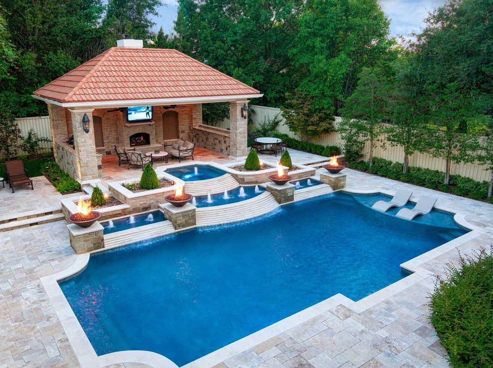 Photo 33 Of 55 For Riverbend Sandler Pools Plano Tx Piscinas