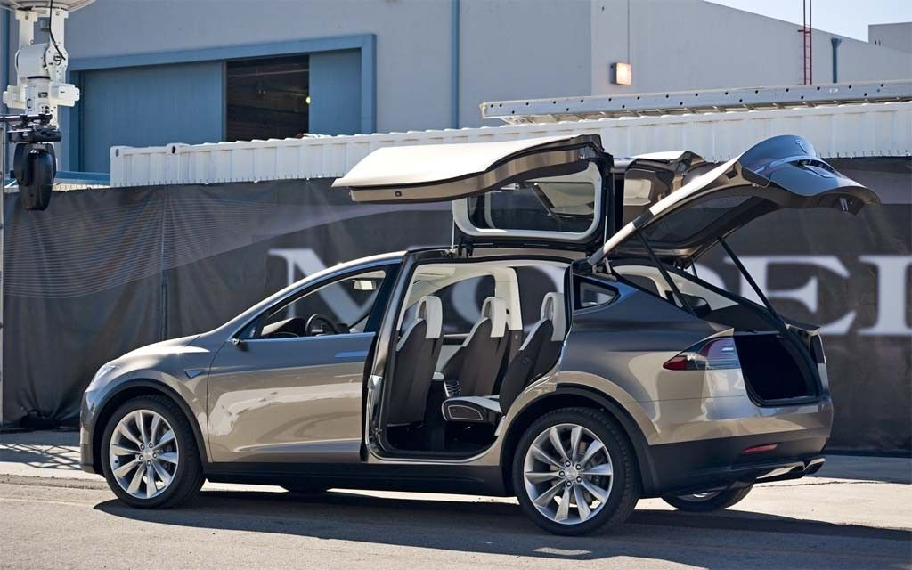 2016 Tesla Model X Back And Side View Https Futurecarrelease