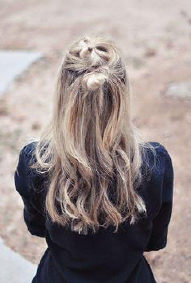 Creativo peinados pelo sucio Fotos de cortes de pelo tendencias - Pin su Peinados para pelo sucio - Dirty hair hairstyle