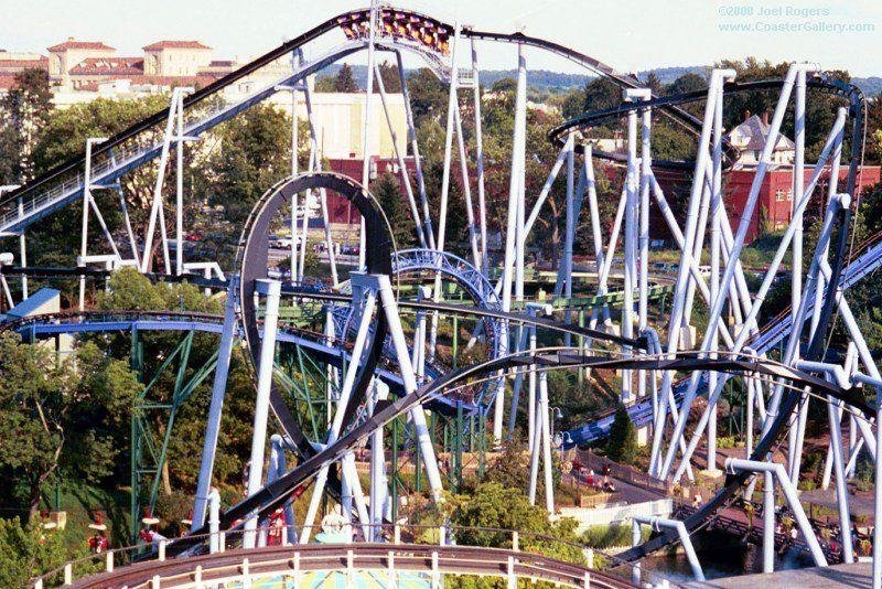 Great Bear Hershey Park Pa Hershey Kisses Amusement Park