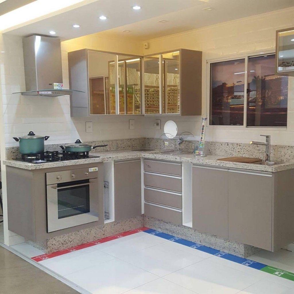 Granito Cozinha – Branco Polar #InspiraDecor
