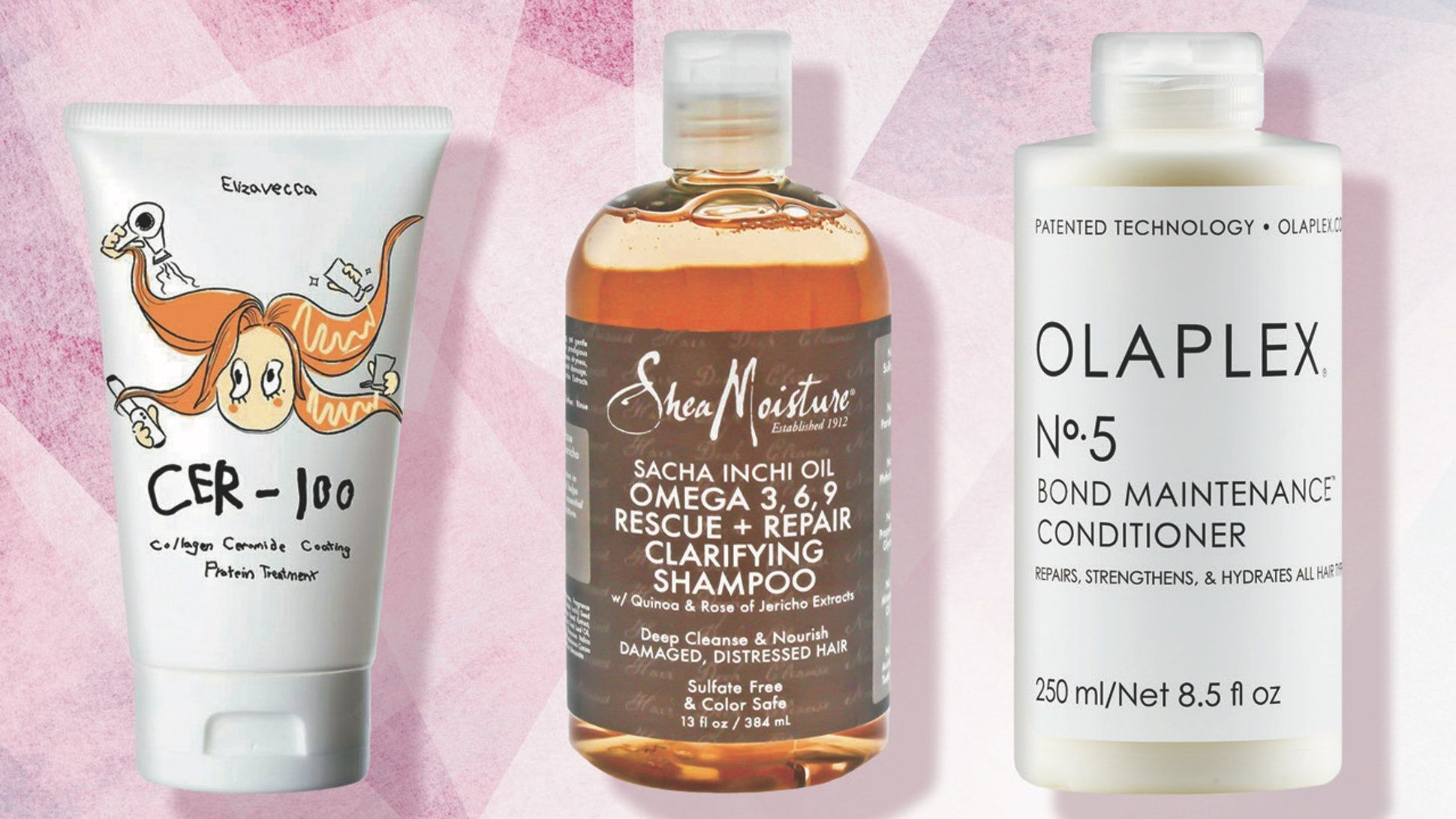 If Your Hair Is Damaged These Are The Shampoos Conditioners You