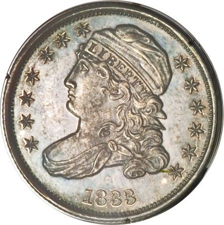 The Most Valuable Capped Bust Dime Proof Bust Dimes 1833