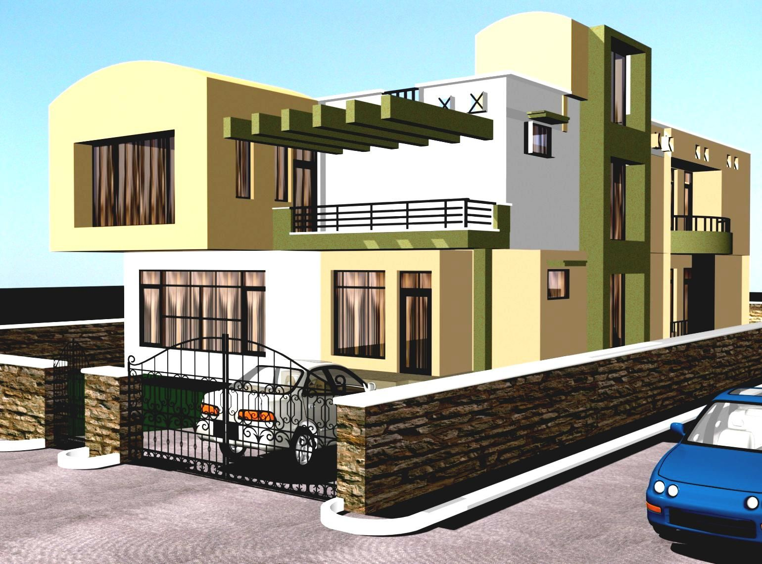 Attractive Gallery Modern Bungalow Designs India Indian Home Design Plans House  Philippines Best