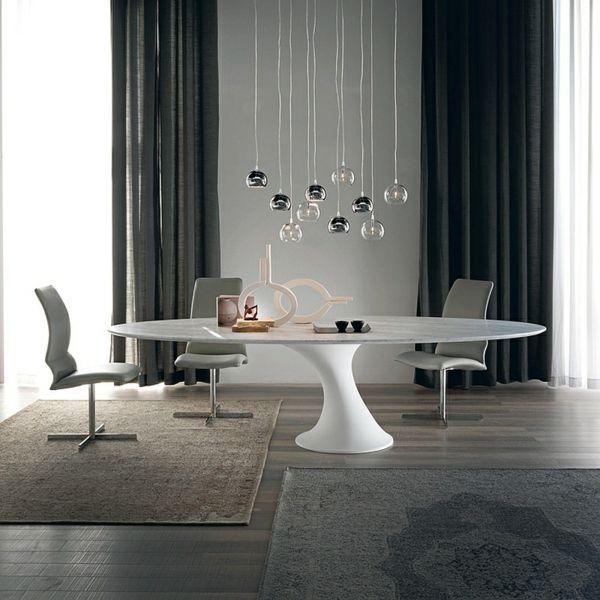 Moderne Esstische mit Stühlen - Designer Lösungen aus Massivholz, Glas