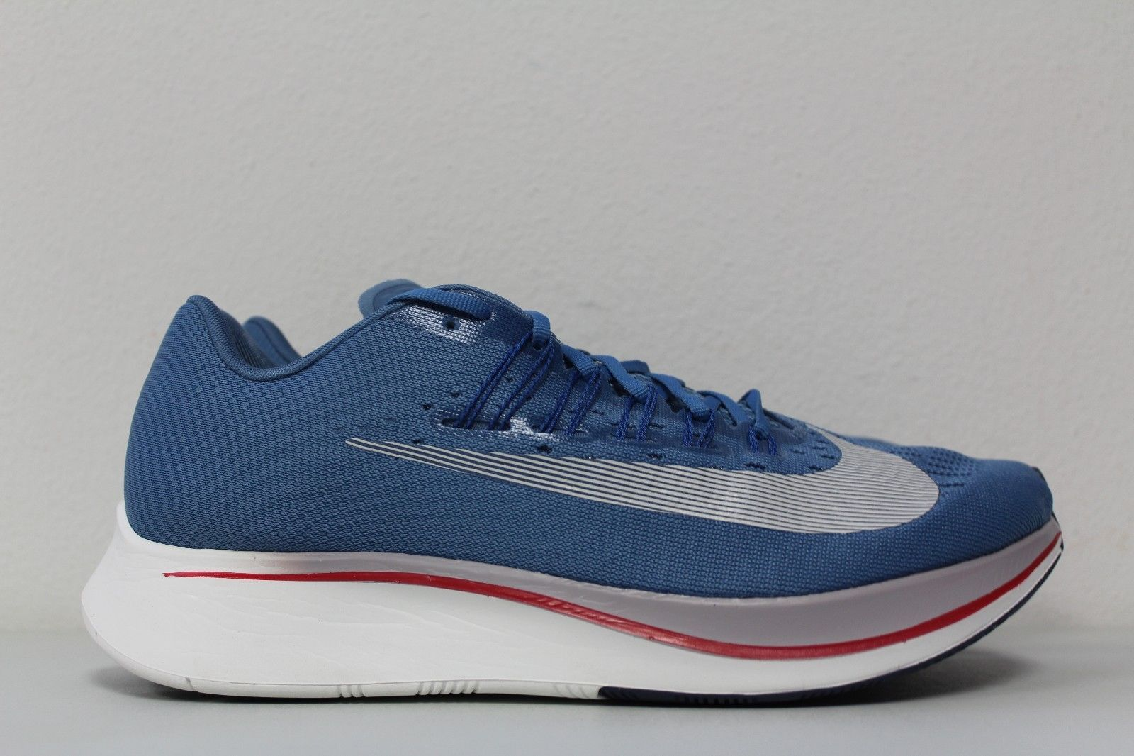 New Nike Zoom Fly Agean Storm Blue White Running Shoes 880848-402 Size 10.5