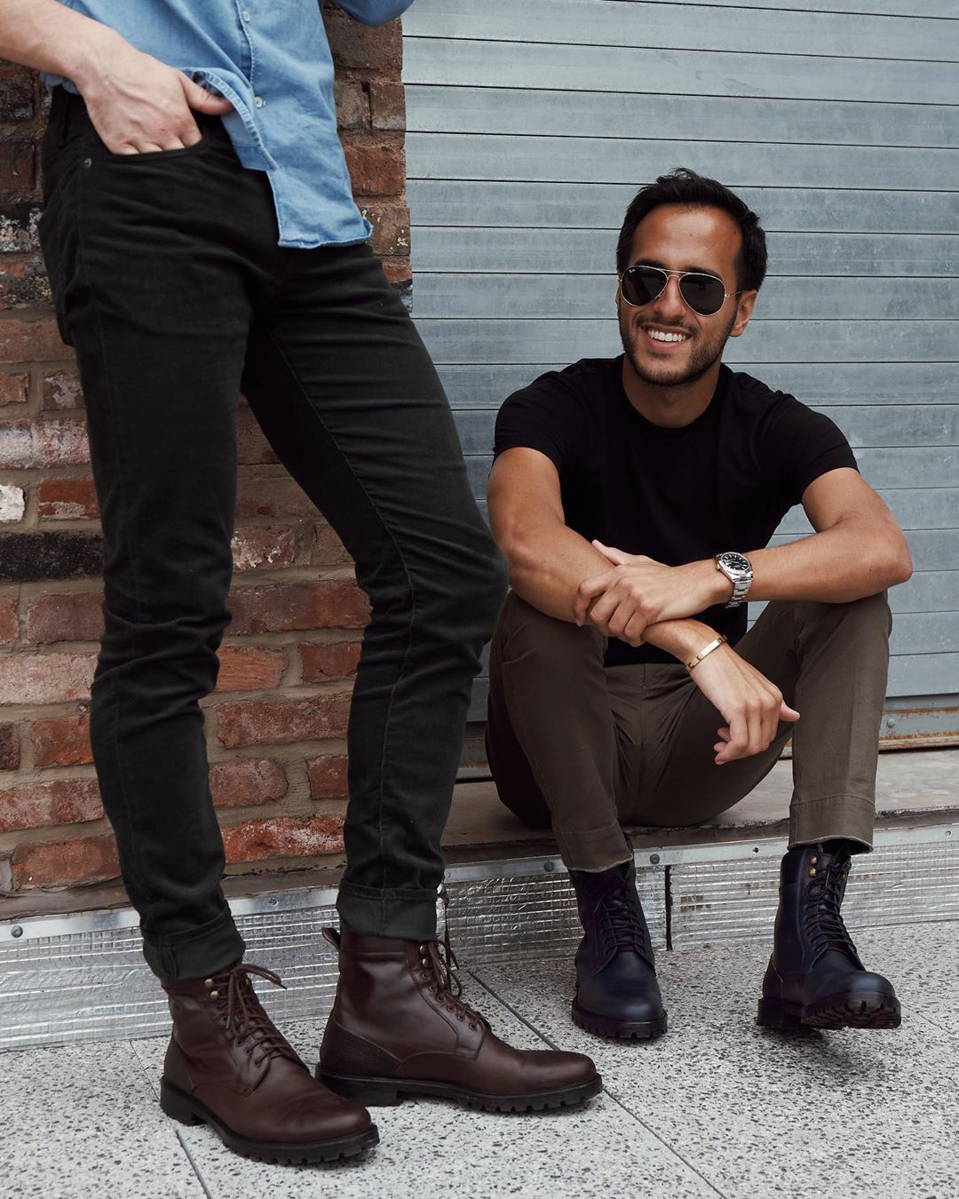Boots outfit men, Combat boot outfits