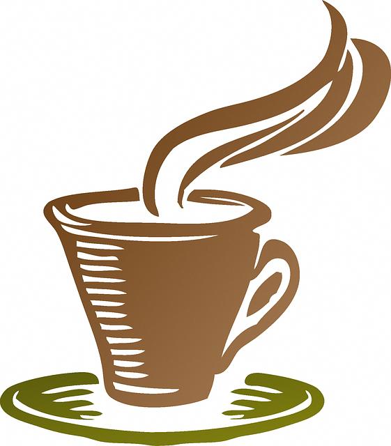 Copa, Café, Ícone, Vapor, Café Expresso, Bebida
