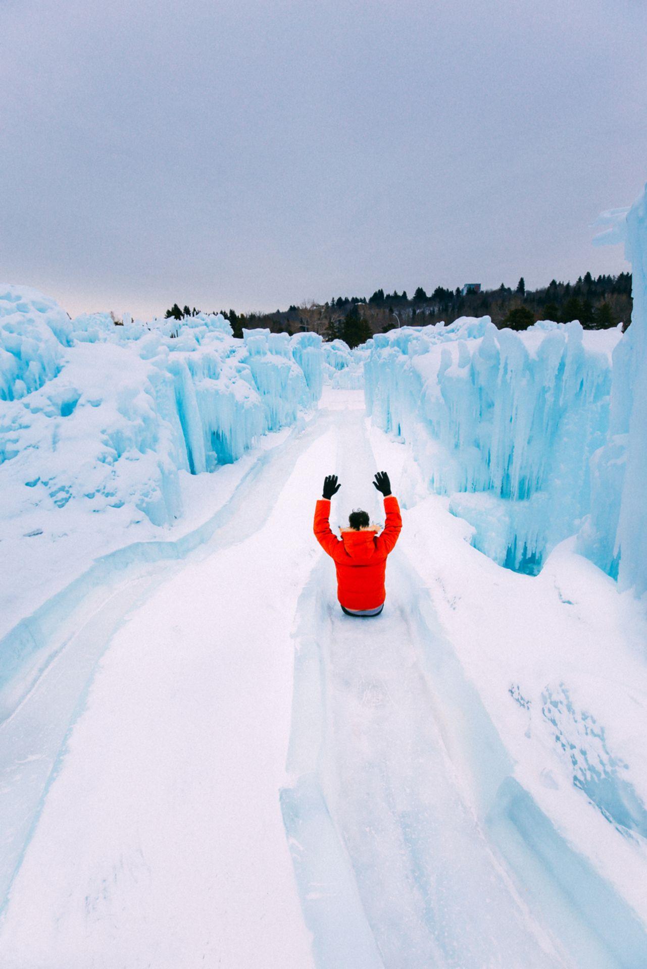 Hawrelak Park Edmonton, Alberta Ice castles, Canada