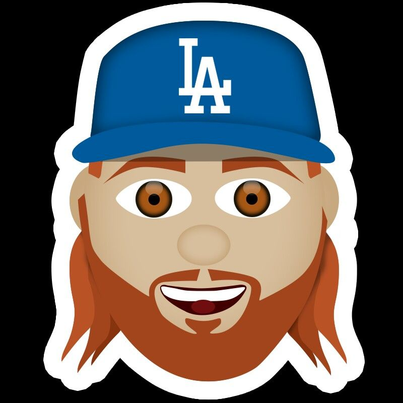 Justin Turner Emoji Los Angeles Dodgers Pinterest Dodgers