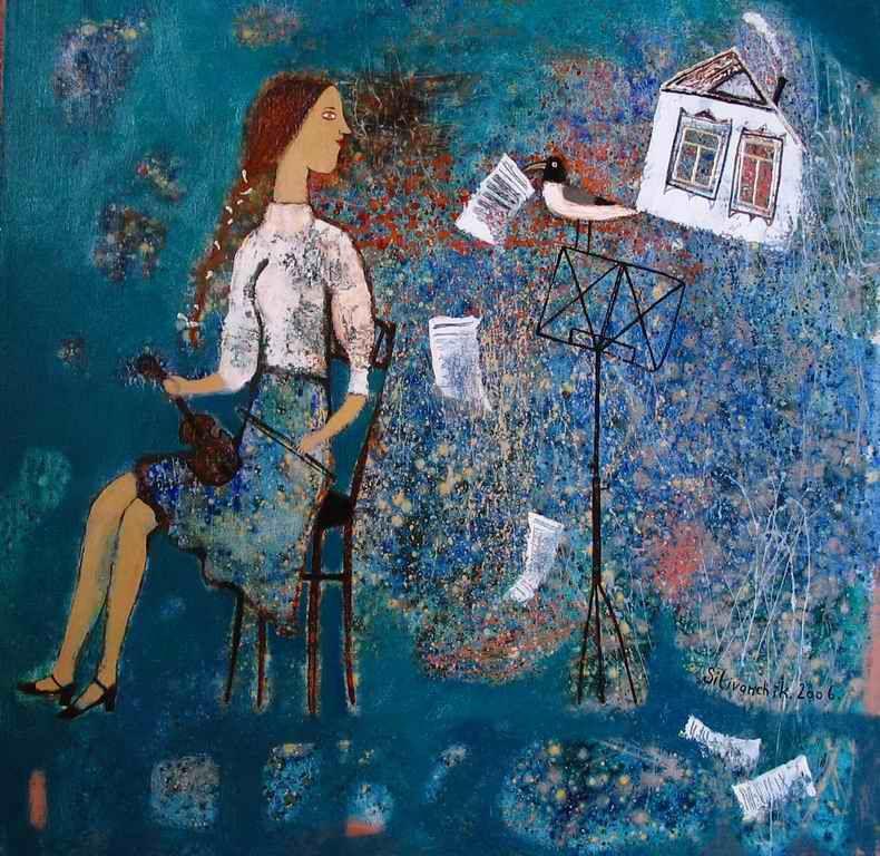 Pin On Anna Silivonchik Belarus Artist