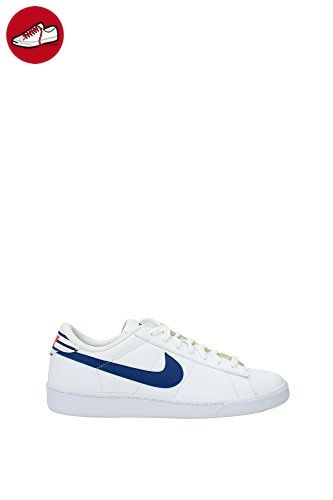 Sneakers Nike Herren Leder Weiß und Blau Tinte 683613102 Weiß 41EU (*Partner-Link)