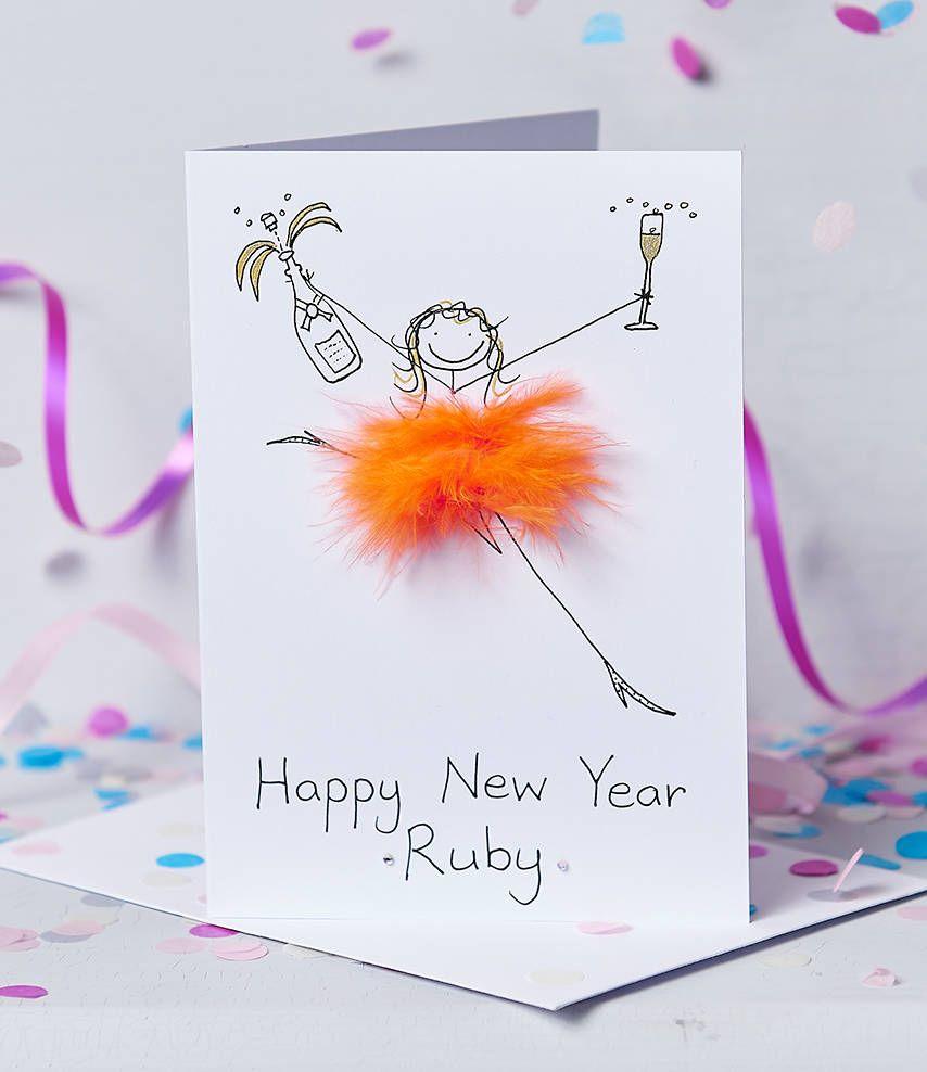 Handmade Personalised Happy New Year Card/Chinese Ny