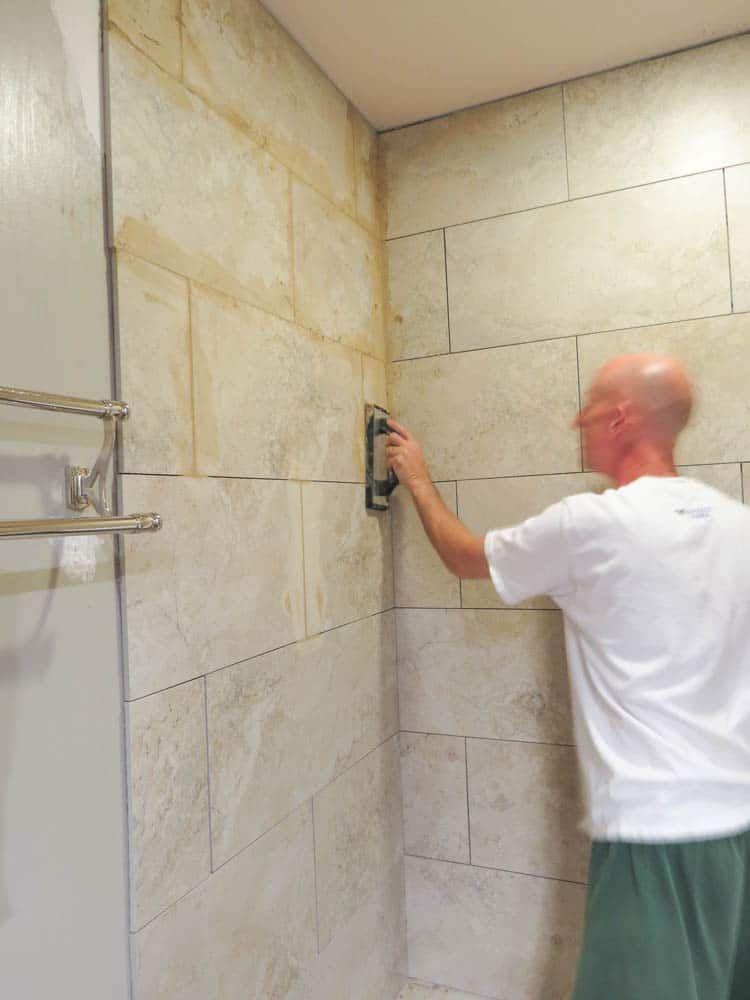 How To Install Bathroom Wall Tiles Bathroom Wall Tile Diy Bathroom Diy Bathroom Makeover