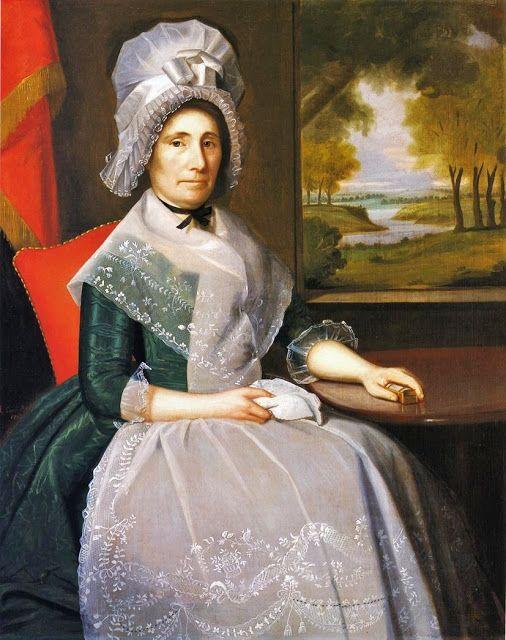 1792 Ralph Earl (1751-1801) Mrs. Richard Alsop