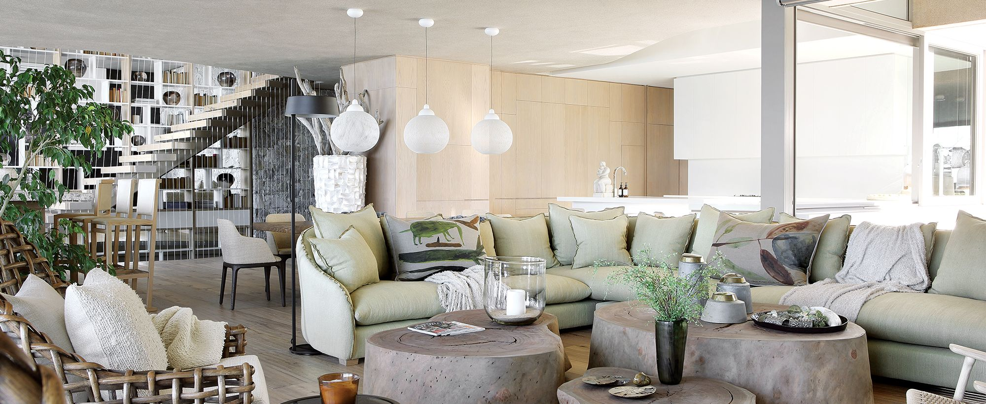 Cecile Boyd For Beachyhead Home Family Room Decorating Neutral Interiors