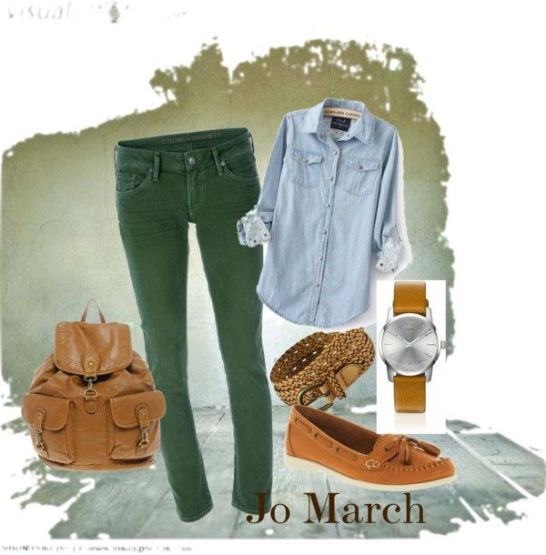 Jo March inspired outfit