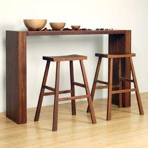 Juniper Tall Console Bar Table Apartment Furniture