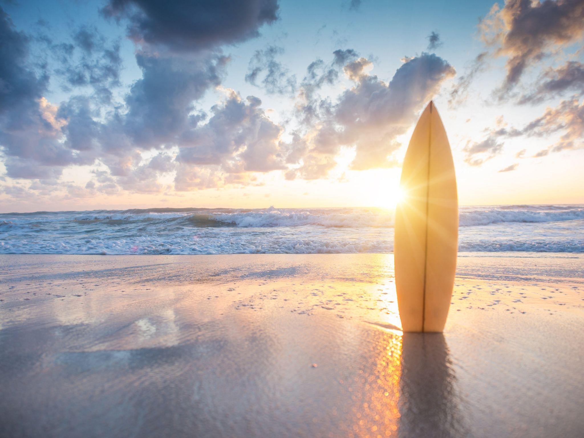Mac Summer Beach Wallpaper