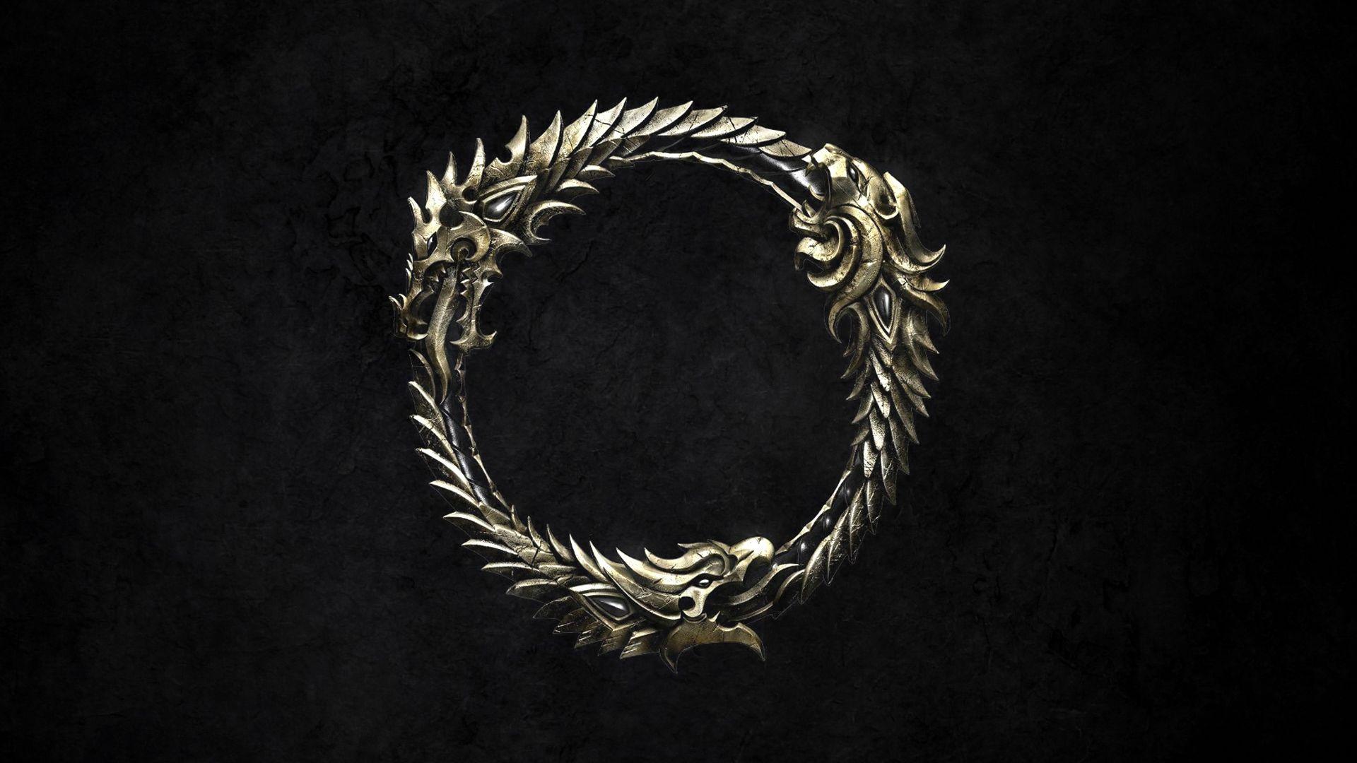 Elder Scrolls Online Game Logo Hd 1920x1080 Jpg 1920 1080 Elder Scrolls Online Elder Scrolls Game Logo