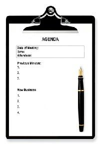 Meeting Agenda Template  Love This One  Things I Like
