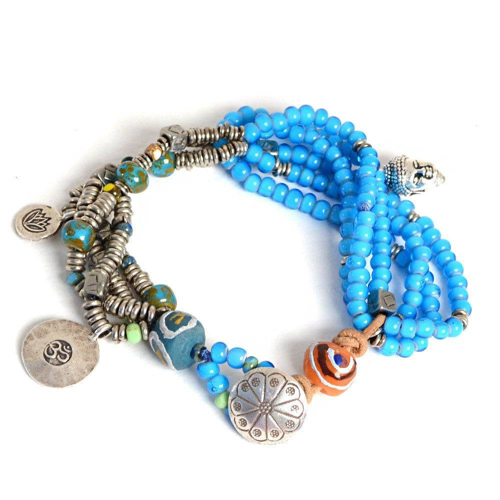 Shiny & Blue – Beadshop.com