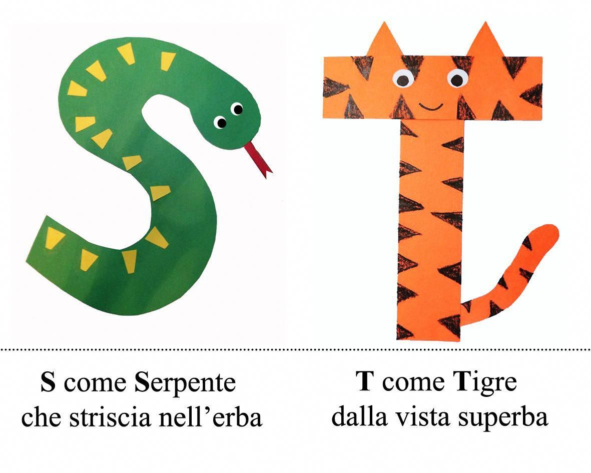 Alfabeto Rima Italianactivitiesforkids With Images