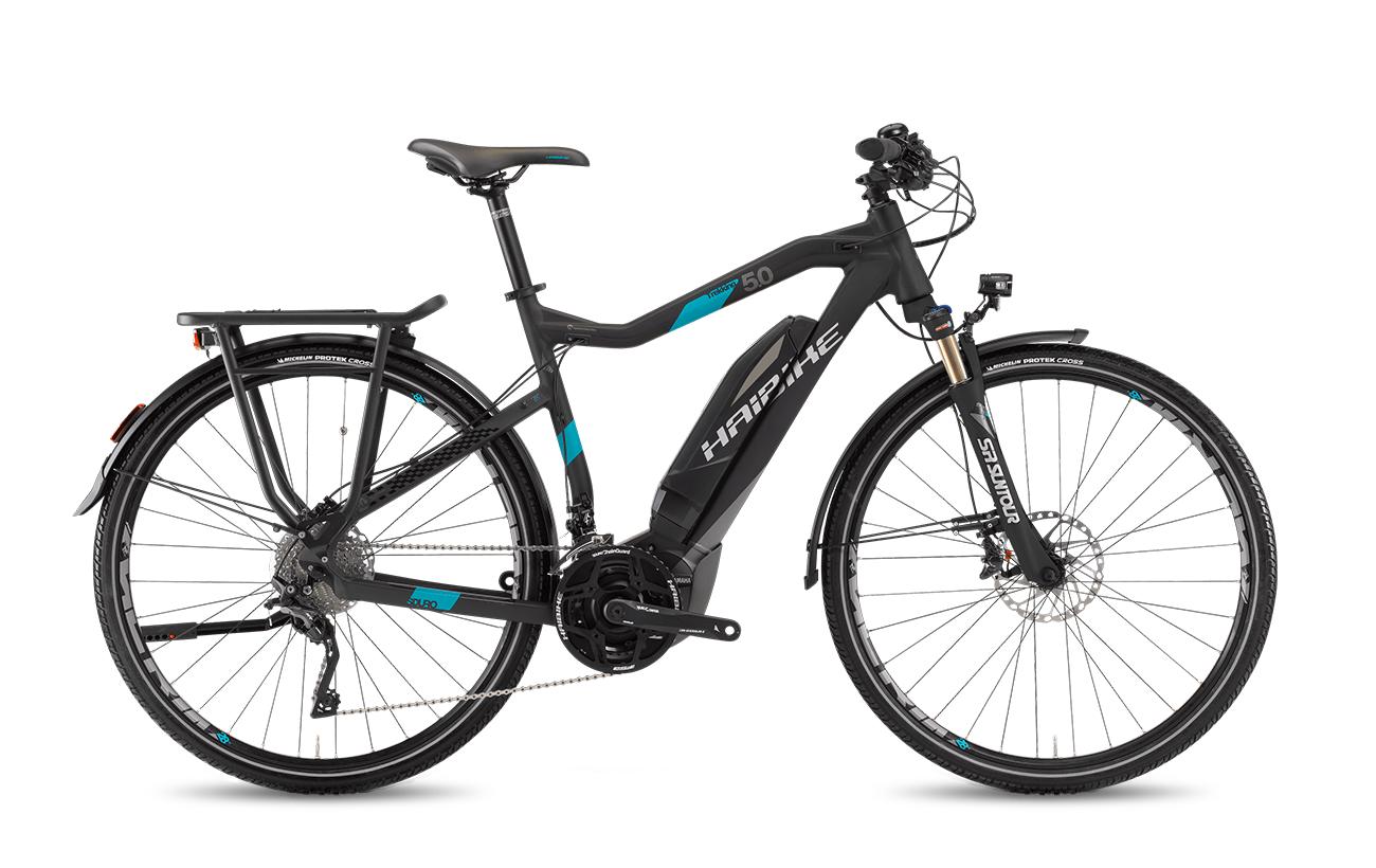 Haibike Sduro Trekking 5 0 2017 Bike Electric Mountain Bike Electric Bike