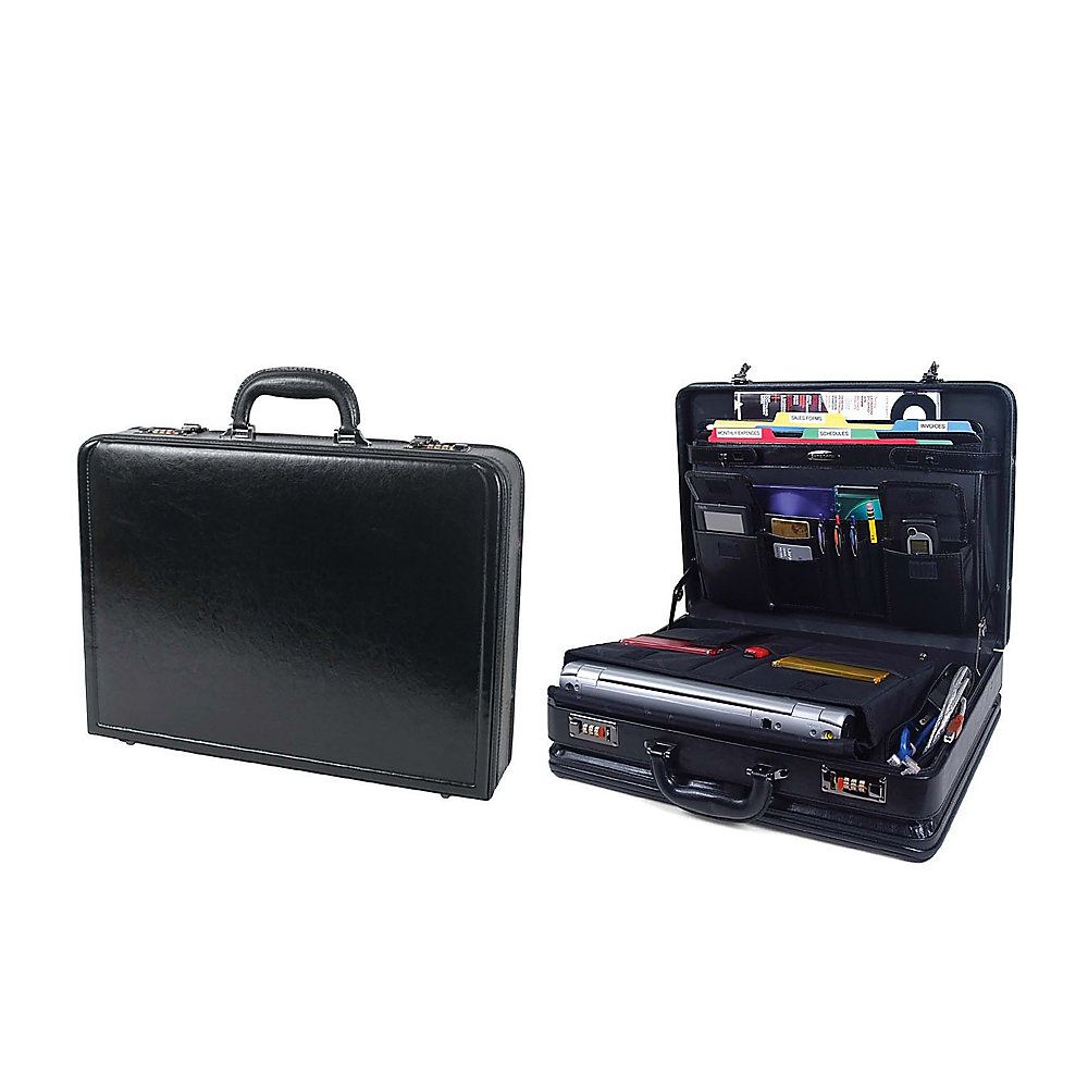 Samsonite� Bonded Leather Computer Attach�, Black $79.99