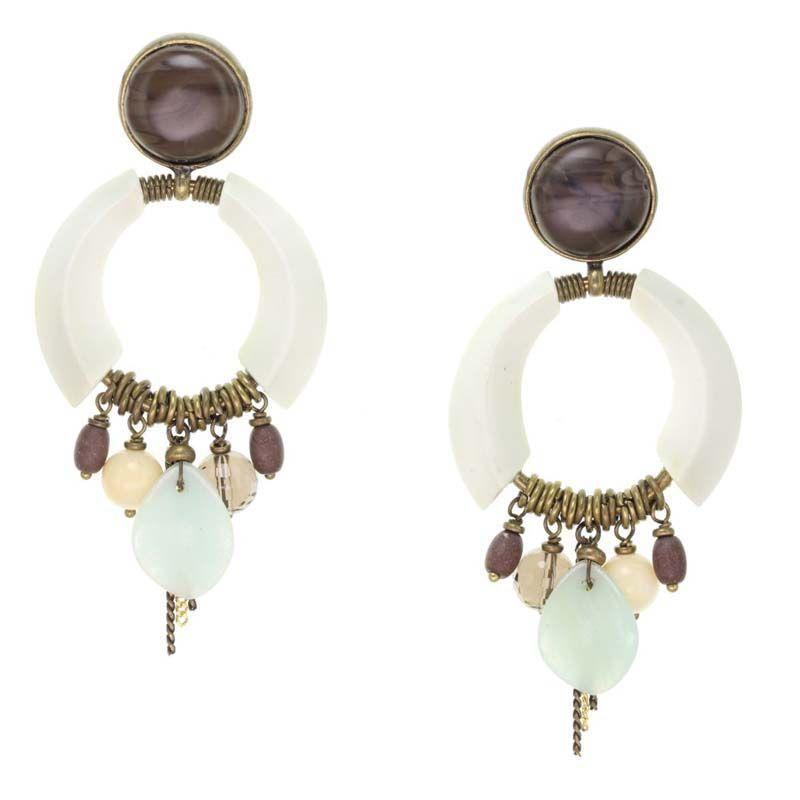 Kheela Earrings by Nature Bijoux