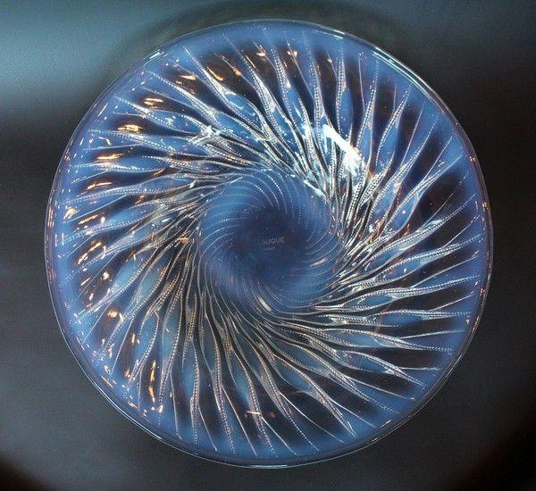 Algues, An Art Deco Glass Bowl