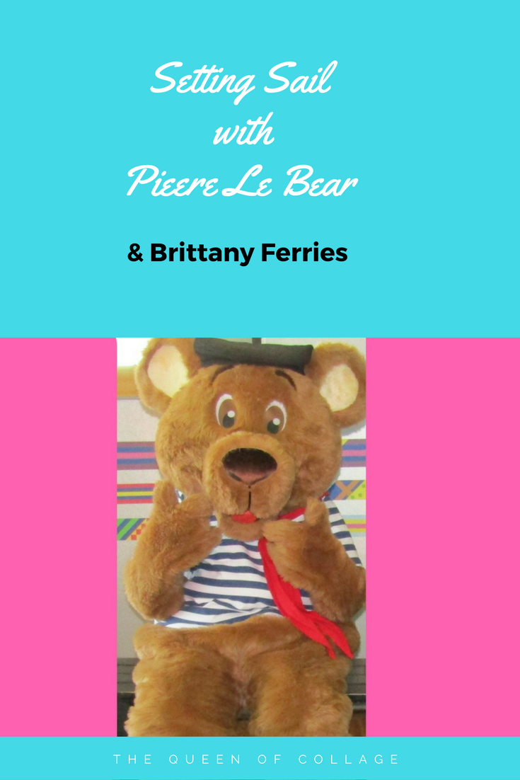 Setting Sail With Pierre Le Bear Brittany Ferries Brittany Ferries Sailing Bear