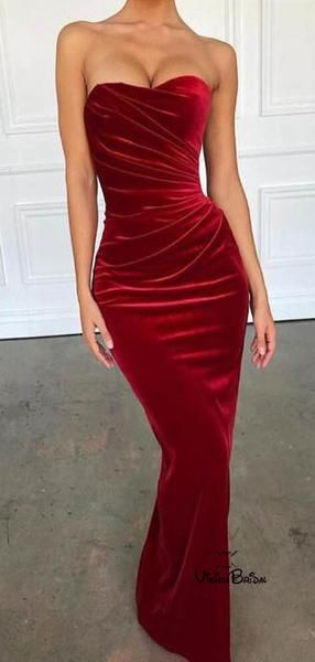 EyeCatching red Sweetheart Long Mermaid Prom Dresses, Prom Dresses, VB02229 EyeCatching red Sweetheart Long Mermaid Prom Dresses, Prom Dresses, VB02229 - Red velvet prom dress, Affordable prom dresses, Mermaid prom dresses, Velvet prom dress, Sexy prom dress, Prom dresses - EyeCatching red Sweetheart Long Mermaid Prom Dresses, Prom Dresses, VB02229 This  dress could be custom made, there are no extra cost to do custom size and color  Description of  dress1, Materialvelvet,elastic silk like satin  2, Color picture color or other colors,there are 126 colors are available, please contact