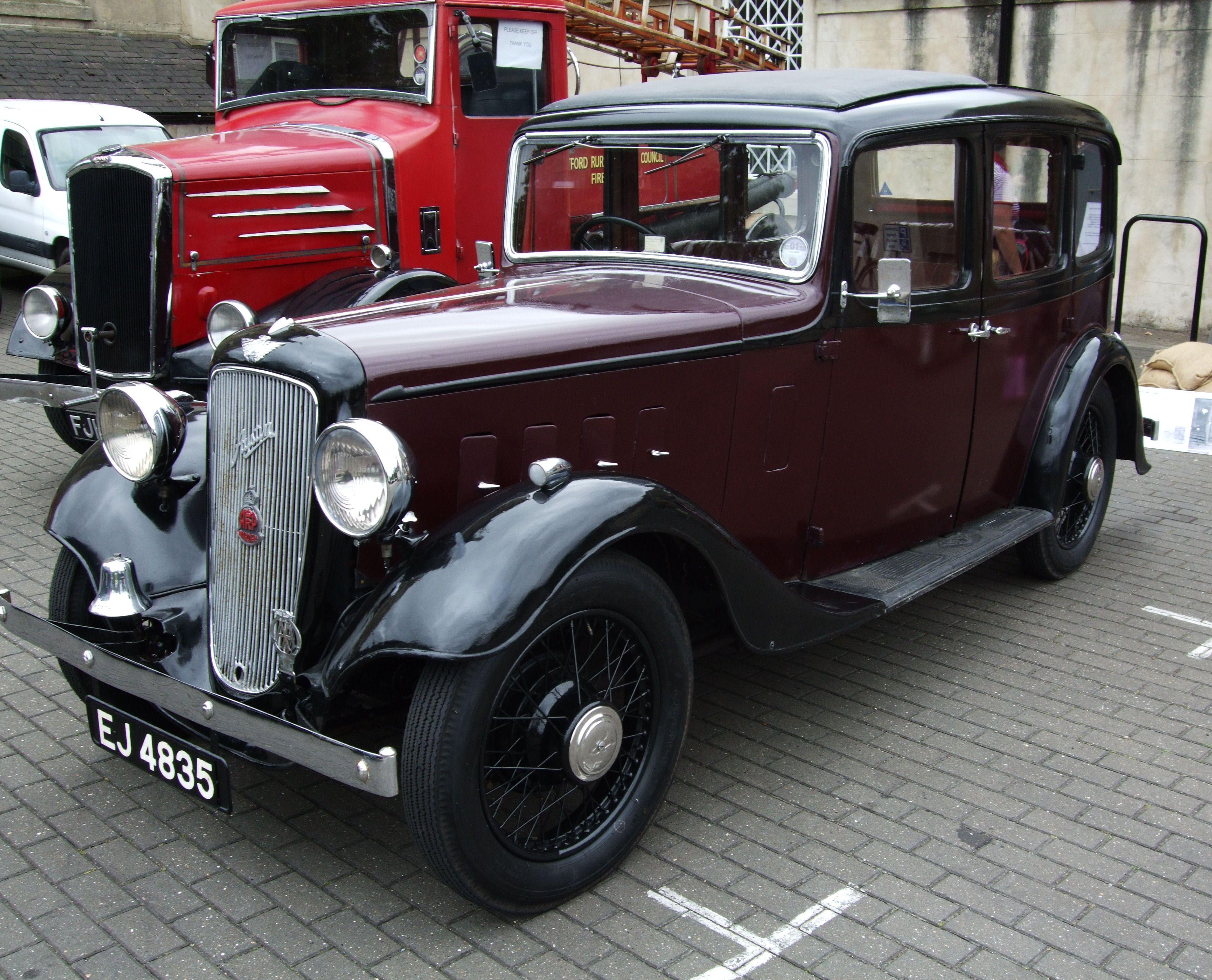 Vintage Car | File:Vintage Austin Car, Kew Bridge Steam Museum.jpg ...