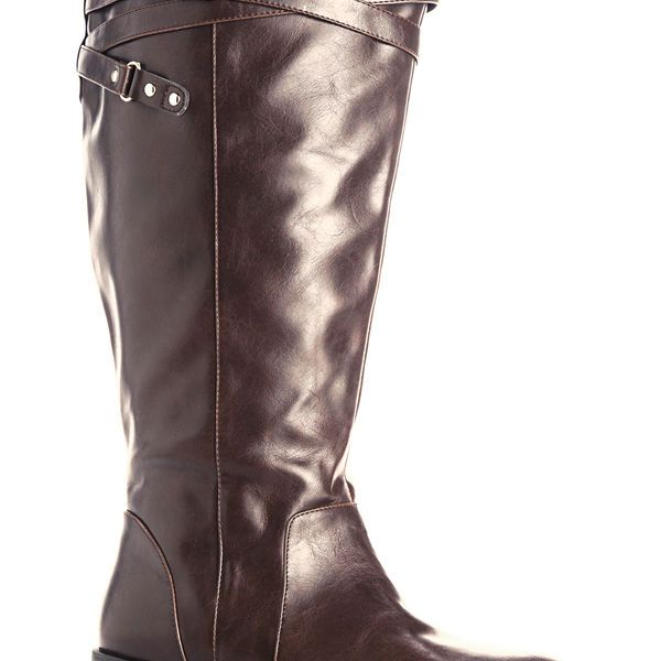 8f0db78f46c Blair Criss Cross Strap Tall Boot-Extra Wide Width Boot-Avenue. Wide Calf  BootsBuckle BootsCriss CrossCowboy BootPlus Size ...