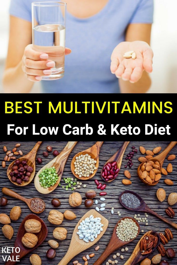 Top 7 Multivitamins For Men And Women On Low Carb Diet
