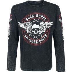 Rock Rebel by Emp Rock And Roll Langarmshirt rock rebel by emp