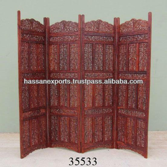Wholesale Exporter Of Living Room Divider Wooden Folding Screen