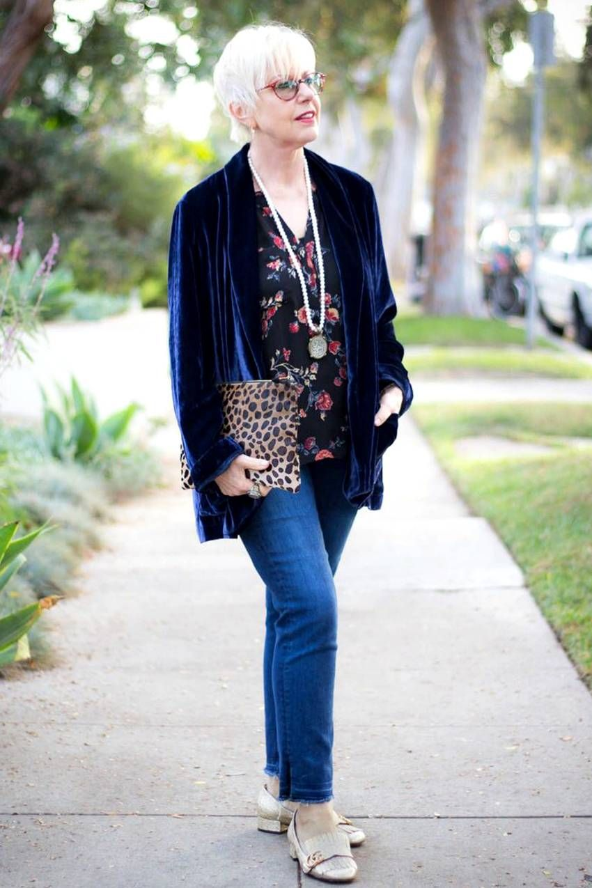 6 Over 50 Women On How To Master Trends And Basics Older Women Fashion Fashion Best Fashion Blogs
