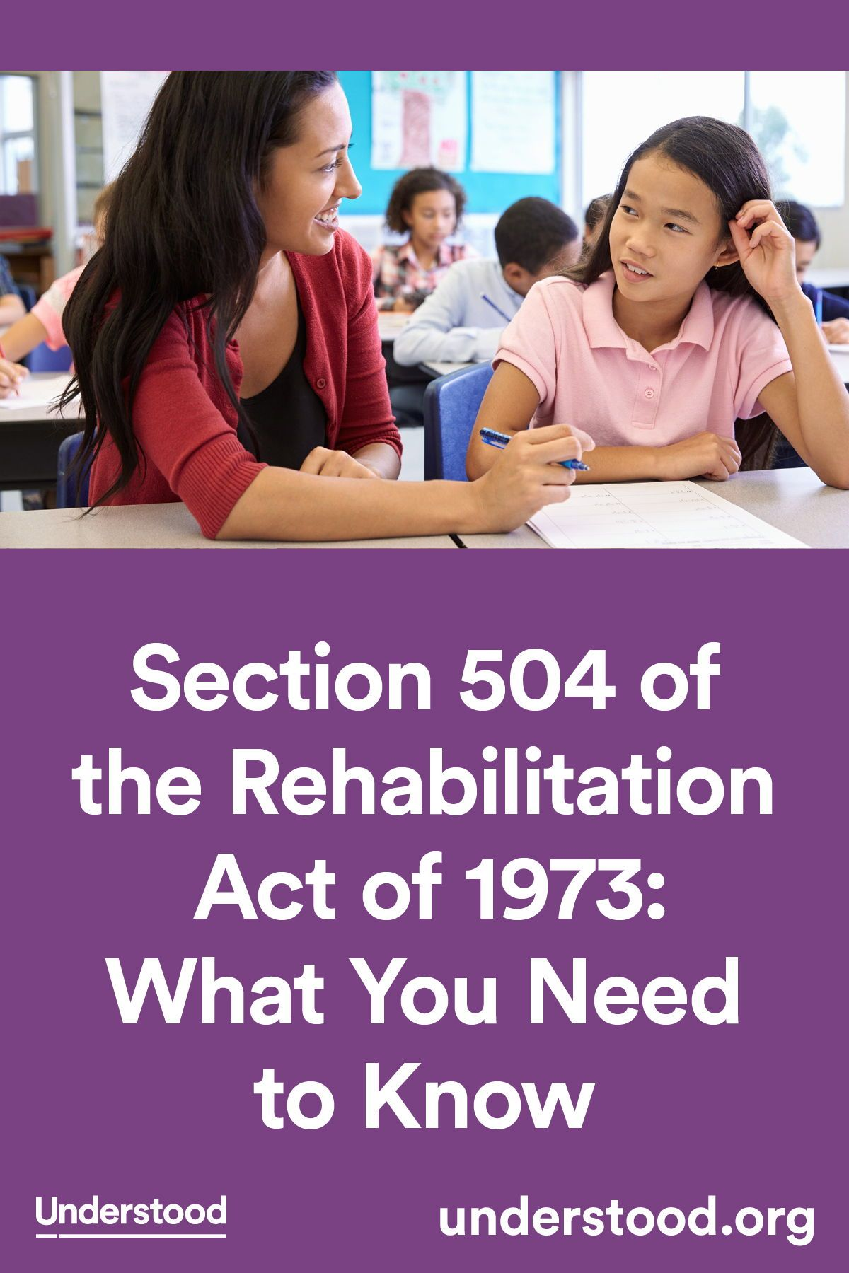 Educational discrimination on teens with disabilities