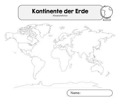 Ideenreise Kontinente Grundschule Montessori Grundschule