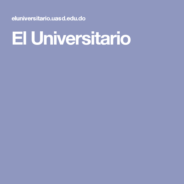 El Universitario