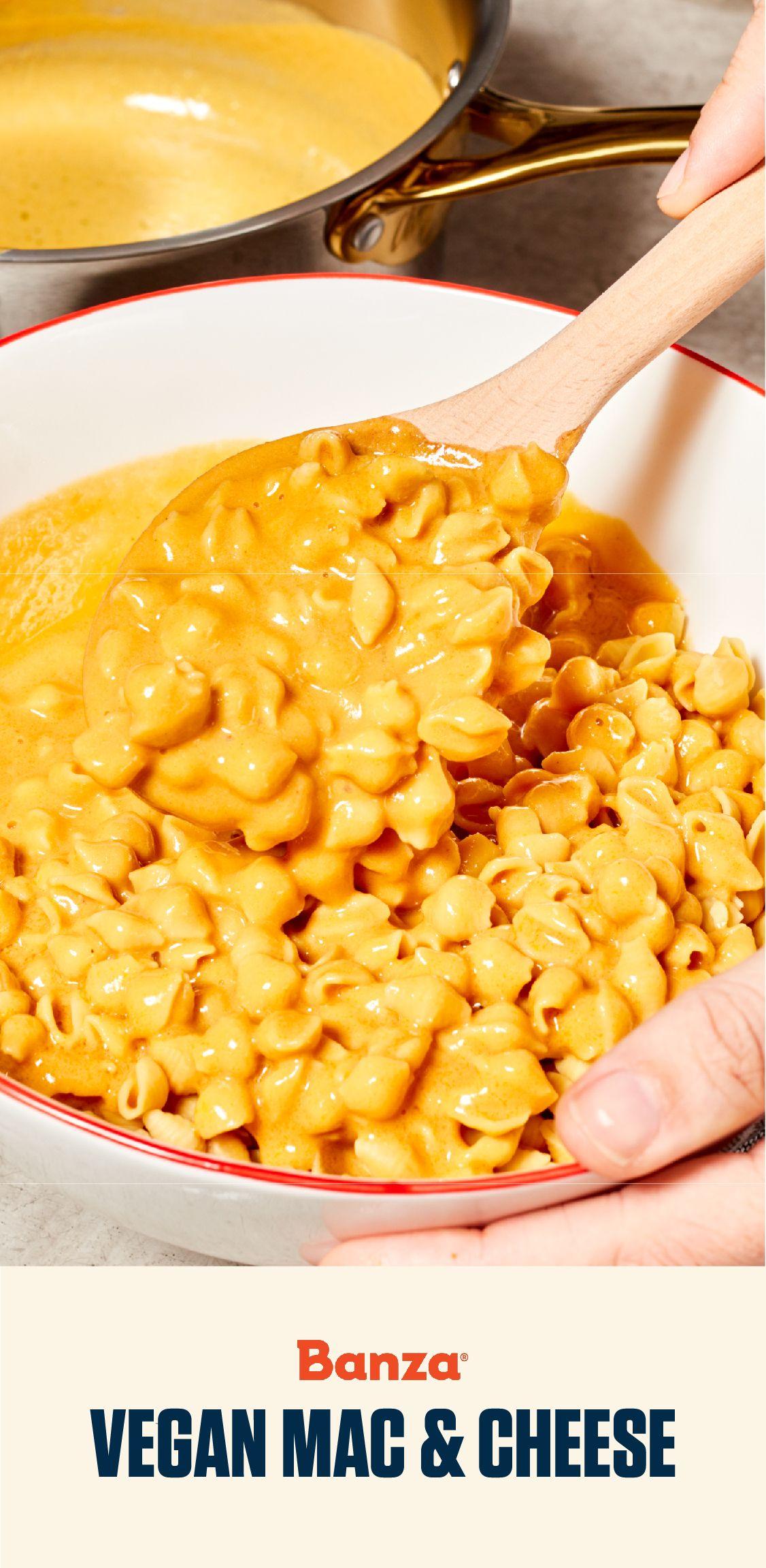 Banza Plant Based Mac Banza In 2020 Vegan Mac And Cheese Dairy Free Mac And Cheese Cheese Pasta Recipes