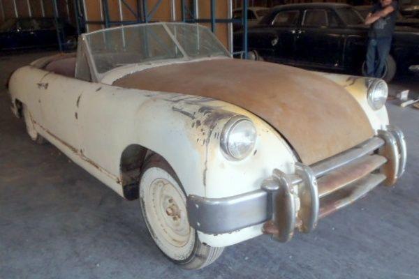 Ultra Rare 1953 Muntz Jet Barn Find