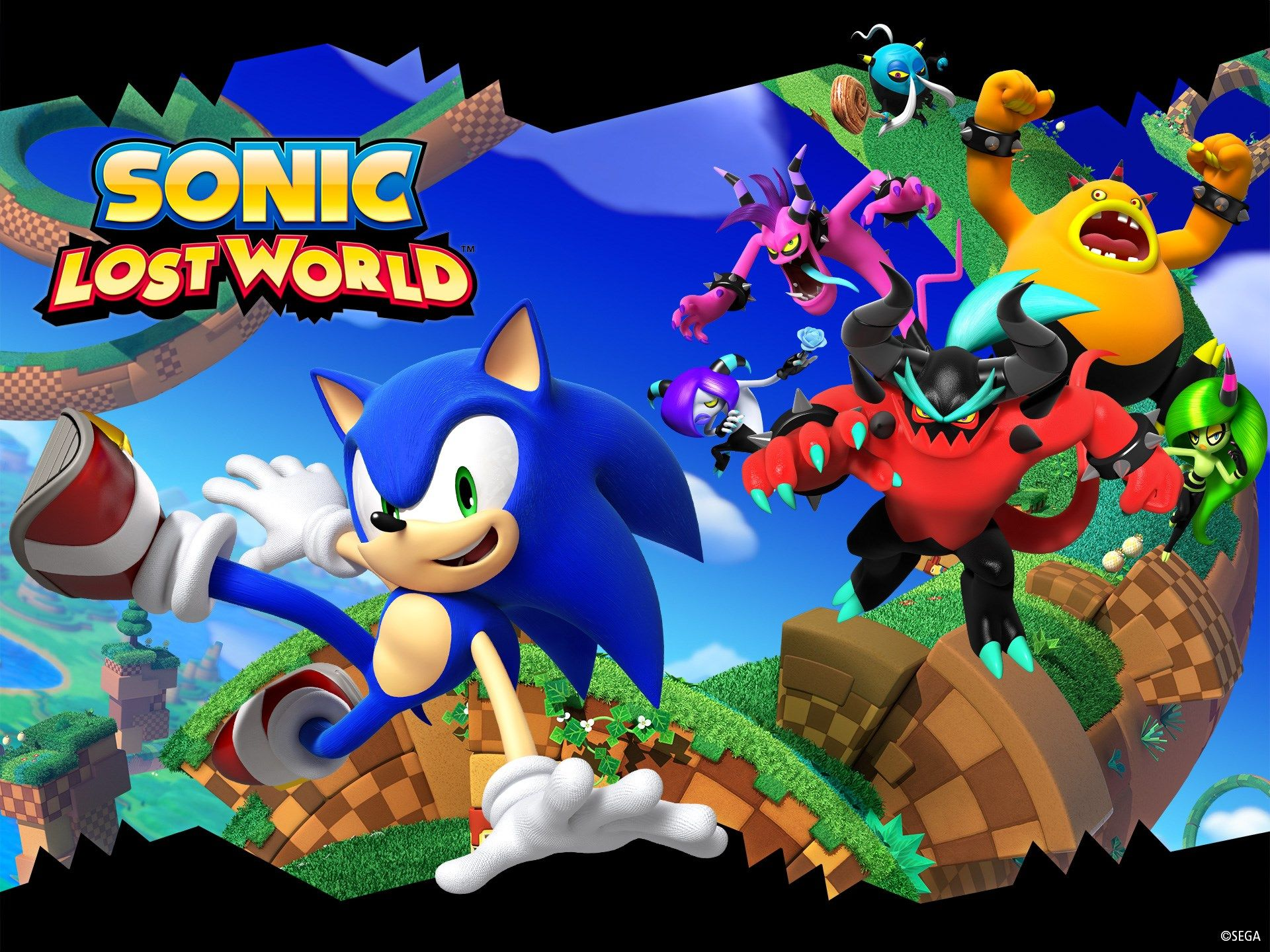 sonic lost world widescreen retina imac World wallpaper