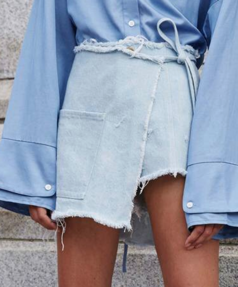 6add676309 Denim Skirt Outfits, Jeans Dress, Denim Shorts, Winter Outfits, Summer  Outfits,