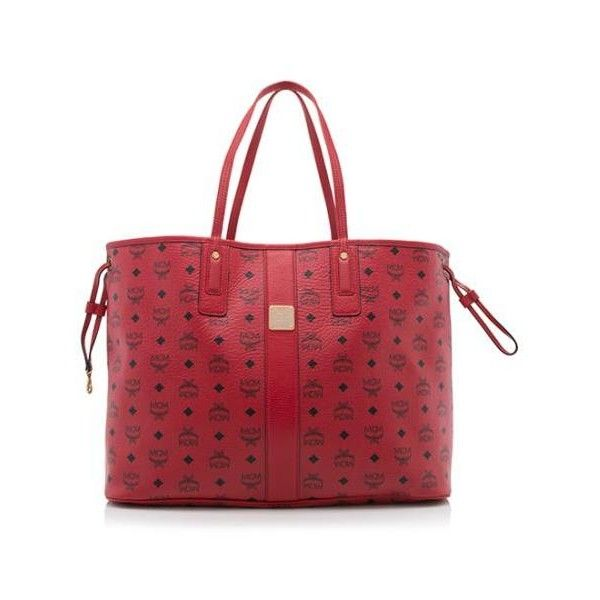 Rental Mcm Project Visetos Reversible Large Tote 100 Liked On Polyvore Featuring Bags