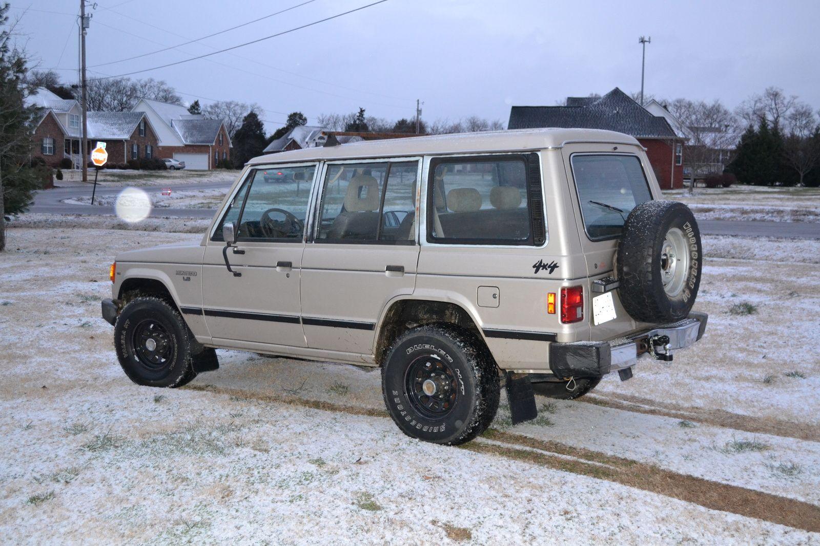 1991 mitsubishi montero 5