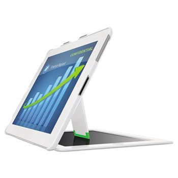 Privacy Cover With Stand For Ipad 2, 3rd Gen And 4th Gen, Landscape, White